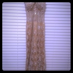 Dresses - Gold Dress